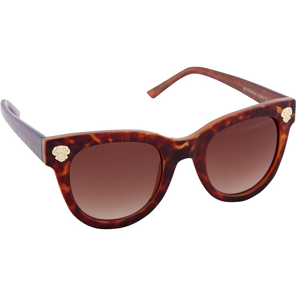 Vince Camuto Eyewear VC670 Sunglasses Tortoise Vince Camuto Eyewear Sunglasses