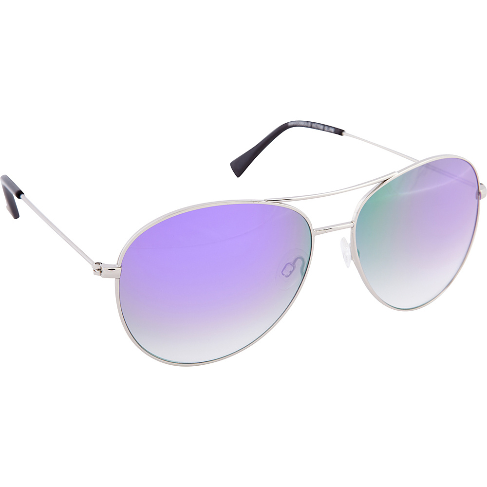 Vince Camuto Eyewear VC708 Sunglasses Silver Purple Vince Camuto Eyewear Sunglasses