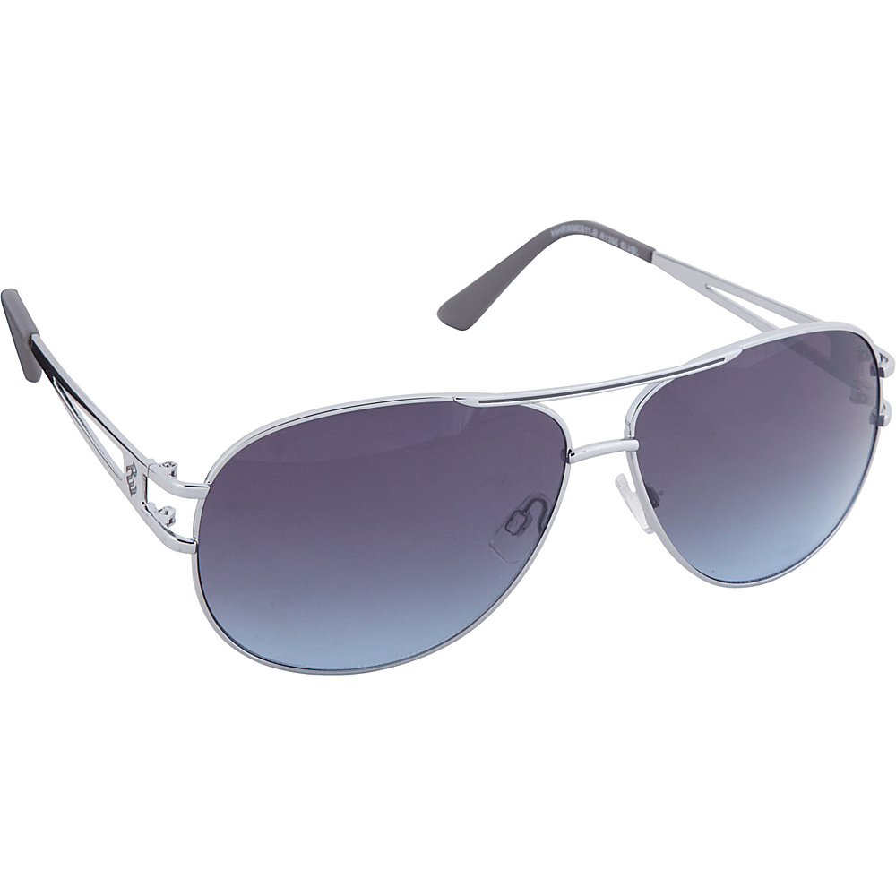 Rocawear Sunwear R1395 Men s Sunglasses Silver Blue Rocawear Sunwear Sunglasses
