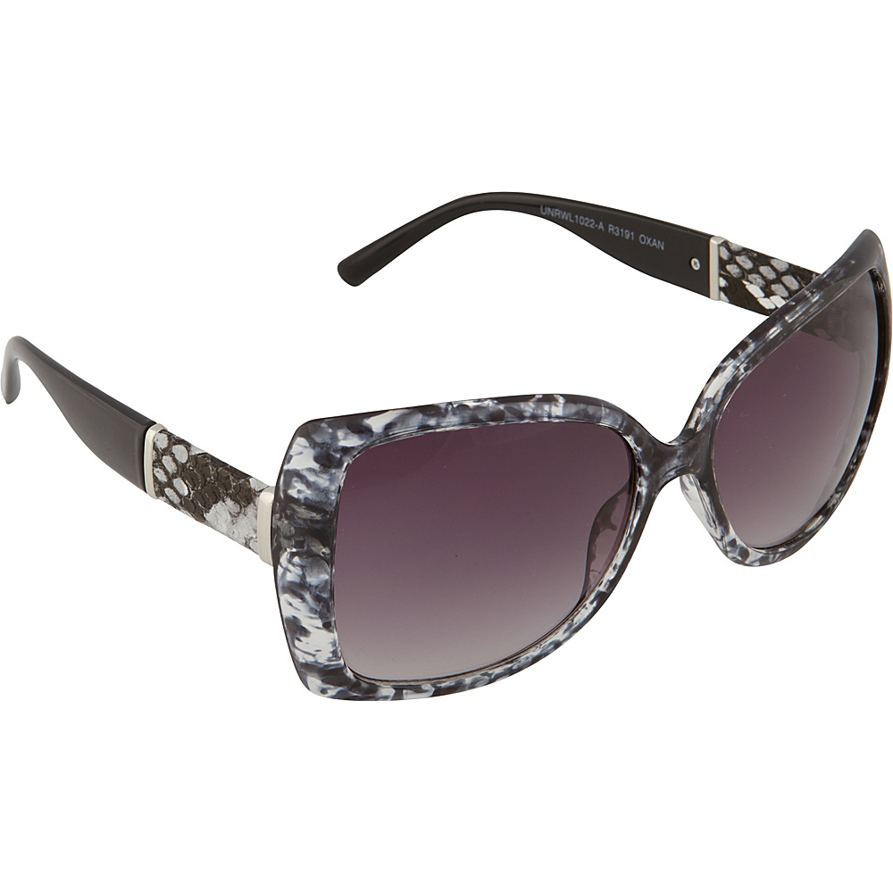 Rocawear Sunwear R3191 Women's Sunglasses Black Animal - Rocawear Sunwear Sunglasses