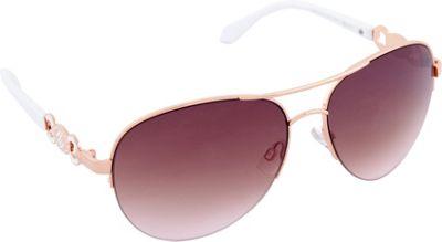 Rocawear Sunwear R565 Women's Sunglasses Rose Gold White - Rocawear Sunwear Sunglasses