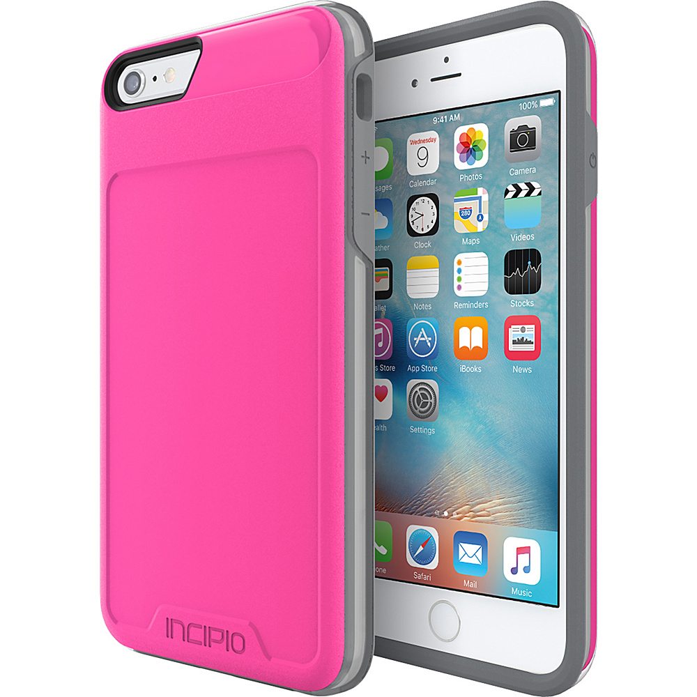 Incipio Performance Series Level 4 for iPhone 6 Plus / 6s Plus Pink/Gray - Incipio Electronic Cases - Technology, Electronic Cases