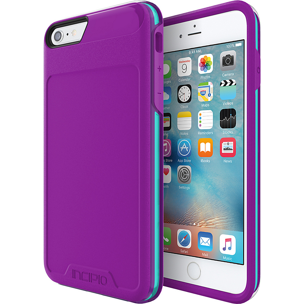 Incipio Performance Series Level 4 for iPhone 6 Plus / 6s Plus Purple/Teal - Incipio Electronic Cases - Technology, Electronic Cases