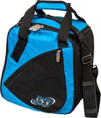 Columbia 300 Bags Team C300 Single Ball Tote Blue/Black - Columbia 300 Bags Bowling Bags