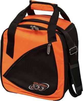 Columbia 300 Bags Team C300 Single Ball Tote Orange/Black - Columbia 300 Bags Bowling Bags