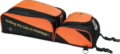 Hammer Removable Shoe & Accessory Pouch Black/Orange - Hammer Bowling Bags