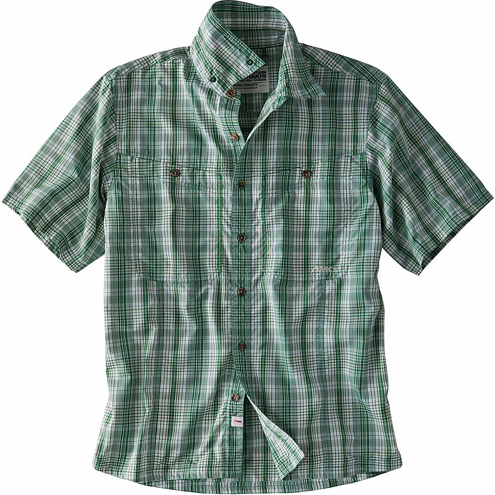 Mountain Khakis Trail Creek Short Sleeve Shirt L - Morning Sky - Mountain Khakis Mens Apparel - Apparel & Footwear, Men's Apparel