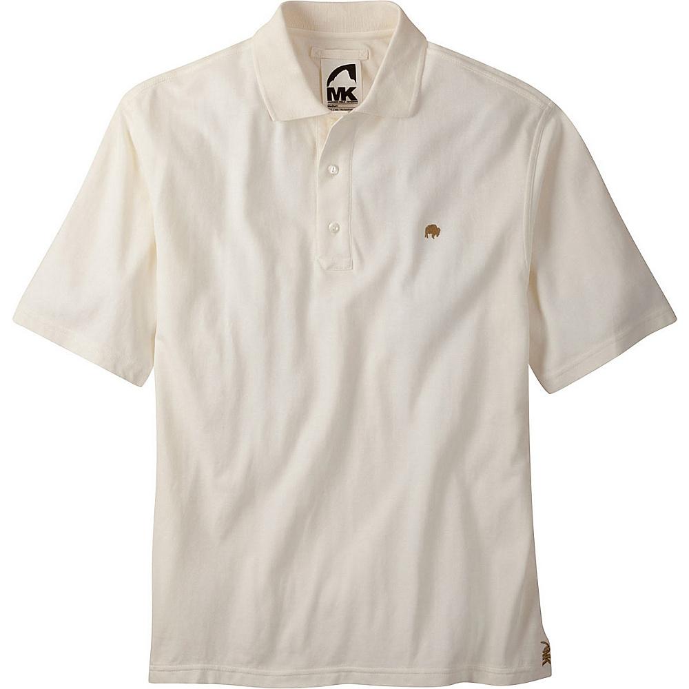Mountain Khakis Bison Polo Shirt S - Linen - Mountain Khakis Mens Apparel - Apparel & Footwear, Men's Apparel