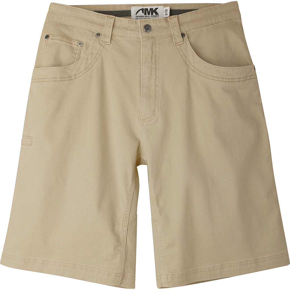 Mountain Khakis Camber 105 Shorts 42 - 11in - Desert Khaki - Mountain Khakis Mens Apparel - Apparel & Footwear, Men's Apparel