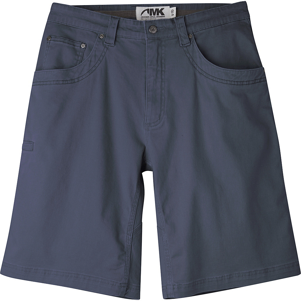 Mountain Khakis Camber 105 Shorts 34 - 9in - Navy - Mountain Khakis Mens Apparel - Apparel & Footwear, Men's Apparel