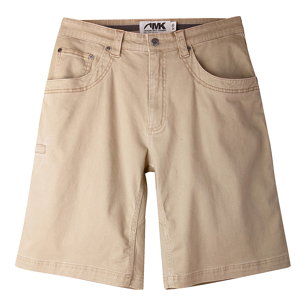 Mountain Khakis Camber 105 Shorts 34 - 11in - Retro Khaki - Mountain Khakis Mens Apparel - Apparel & Footwear, Men's Apparel