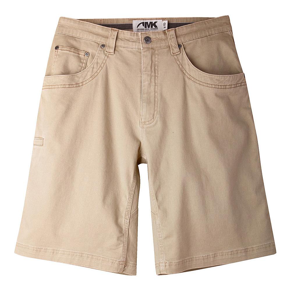 Mountain Khakis Camber 105 Shorts 36 - 11in - Retro Khaki - Mountain Khakis Mens Apparel - Apparel & Footwear, Men's Apparel