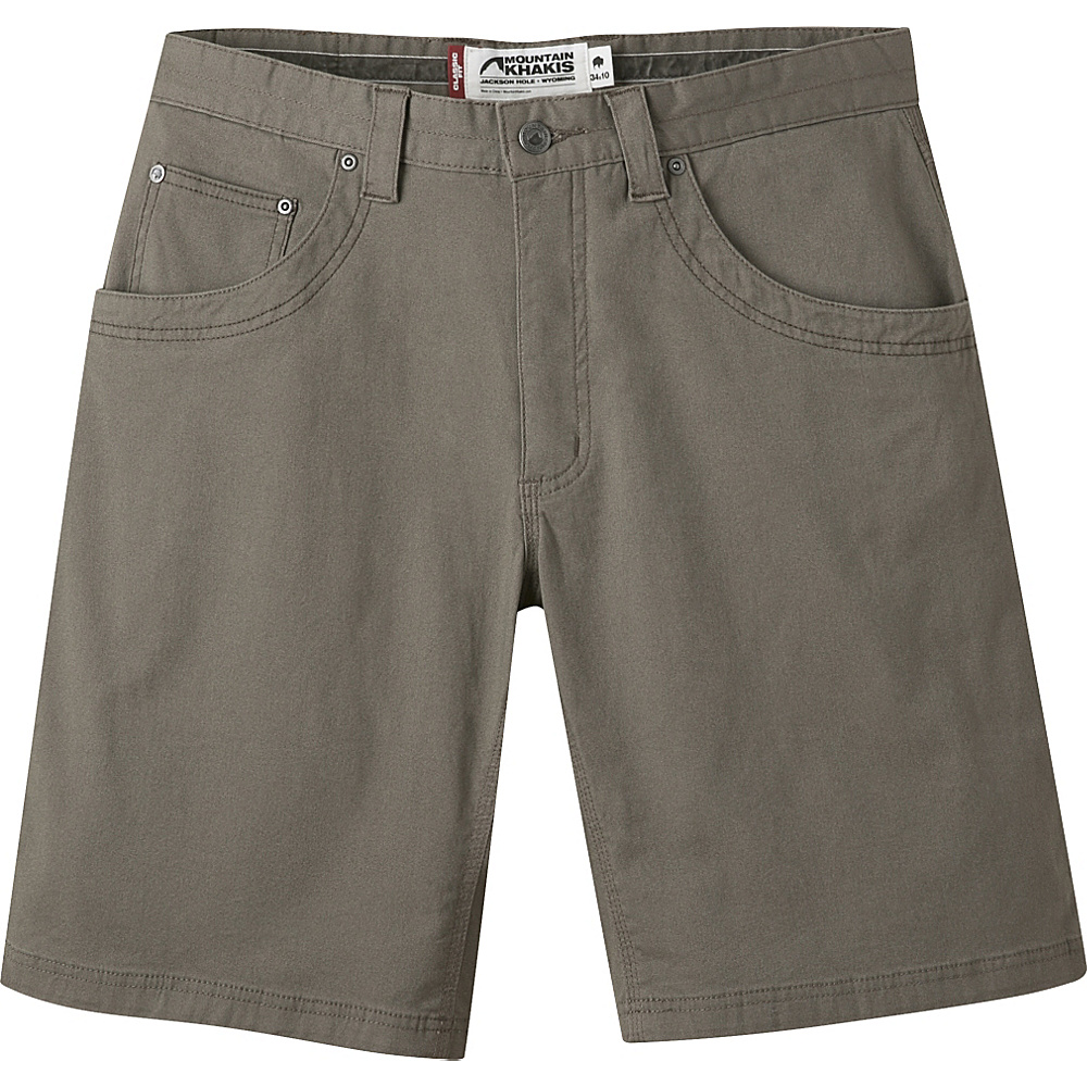Mountain Khakis Camber 104 Hybrid Short 35 - 10in - Firma - 31W 10in - Mountain Khakis Mens Apparel - Apparel & Footwear, Men's Apparel
