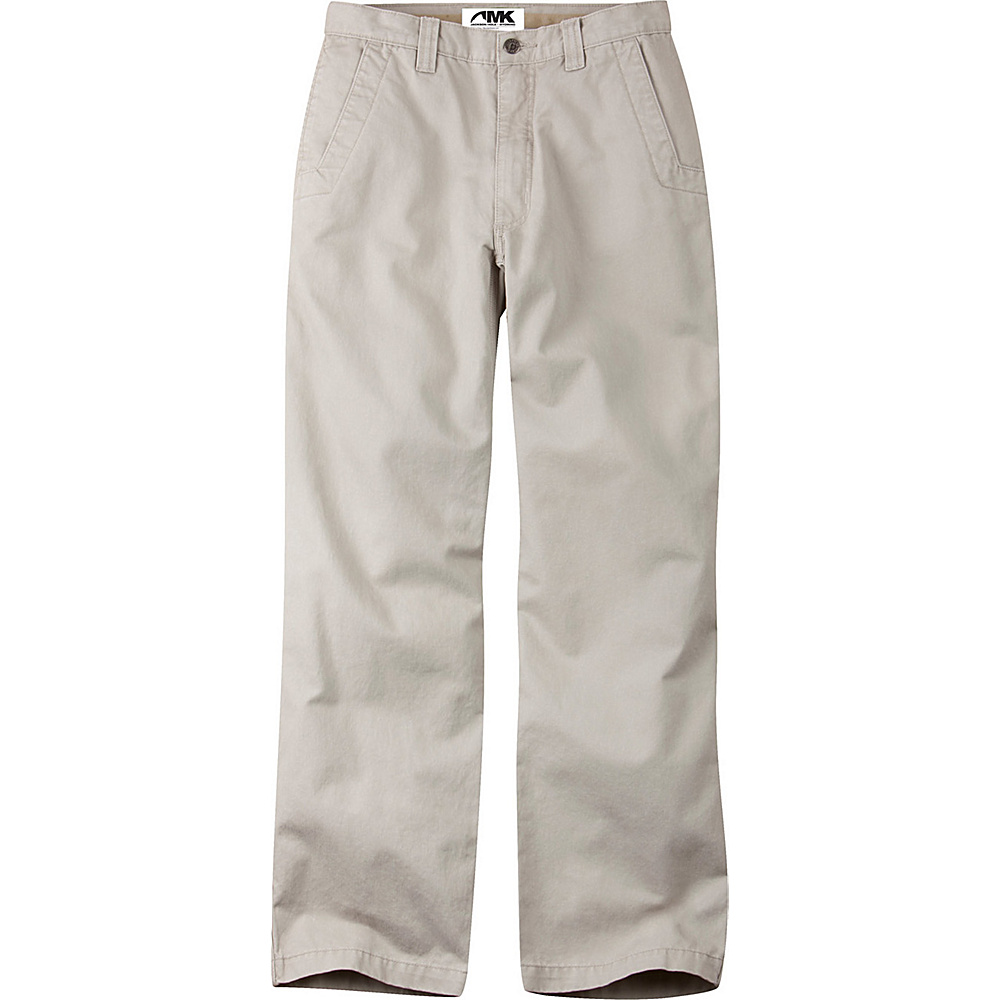 Mountain Khakis Teton Twill Pants 35 - 30in - Stone - Mountain Khakis Mens Apparel - Apparel & Footwear, Men's Apparel
