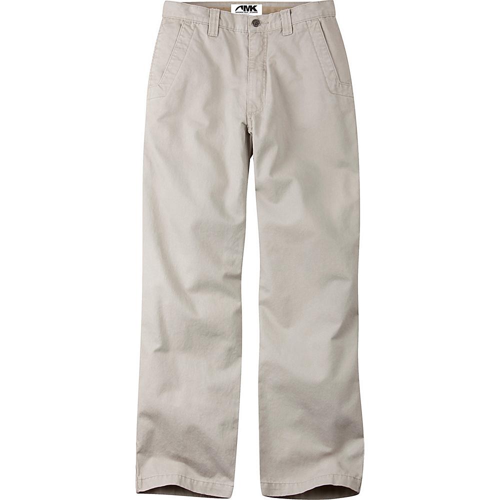 Mountain Khakis Teton Twill Pants 35 - 34in - Stone - Mountain Khakis Mens Apparel - Apparel & Footwear, Men's Apparel