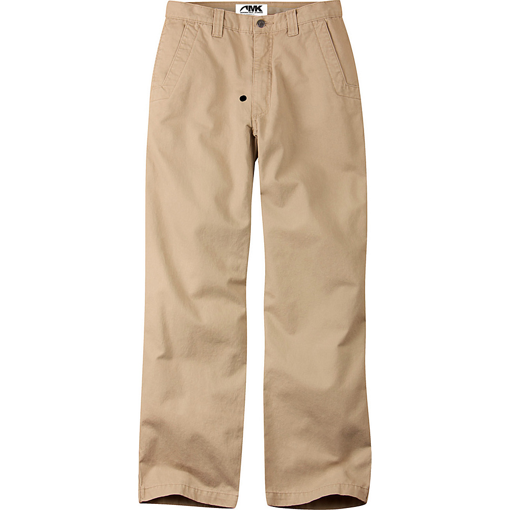 Mountain Khakis Teton Twill Pants 33 - 32in - Retro Khaki - Mountain Khakis Mens Apparel - Apparel & Footwear, Men's Apparel