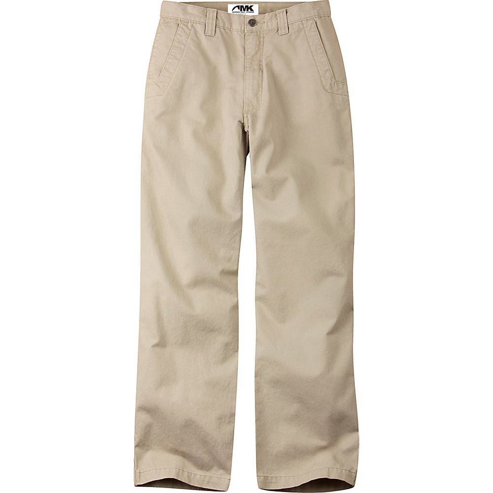 Mountain Khakis Teton Twill Pants 35 - 32in - Sand - Mountain Khakis Mens Apparel - Apparel & Footwear, Men's Apparel