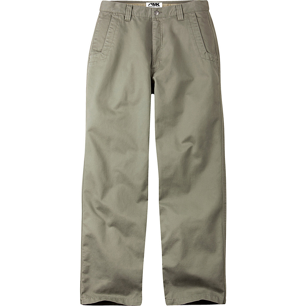 Mountain Khakis Teton Twill Pants 35 - 30in - Olive - Mountain Khakis Mens Apparel - Apparel & Footwear, Men's Apparel