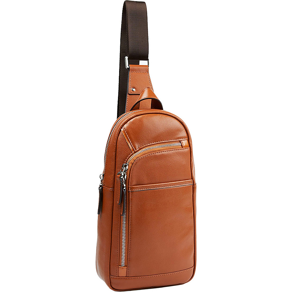 Tanners Avenue Leather Campus Pack Cognac Tanners Avenue Everyday Backpacks