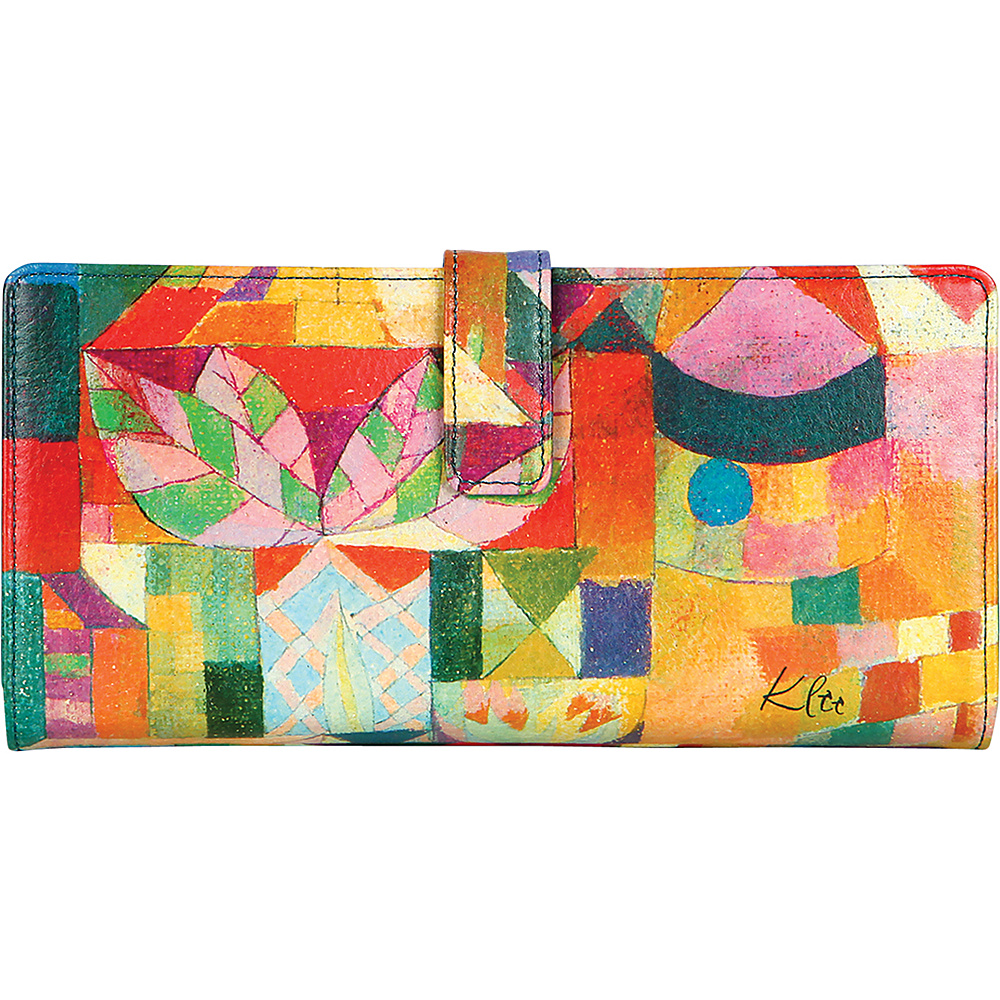 Icon Shoes Continental Wallet with ID Flip Garden View Icon Shoes Women s Wallets