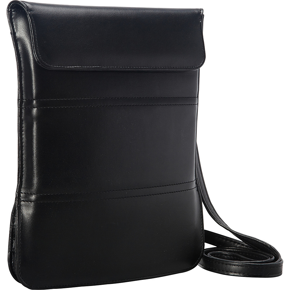 Goodhope Bags Tablet Messenger Sleeve with Stand Black Goodhope Bags Electronic Cases