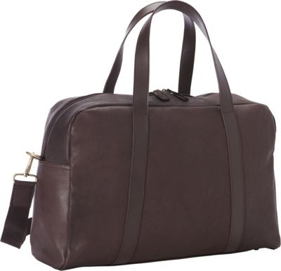 Goodhope Bags Oxford Leather Duffel Brown - Goodhope Bags Luggage Totes and Satchels