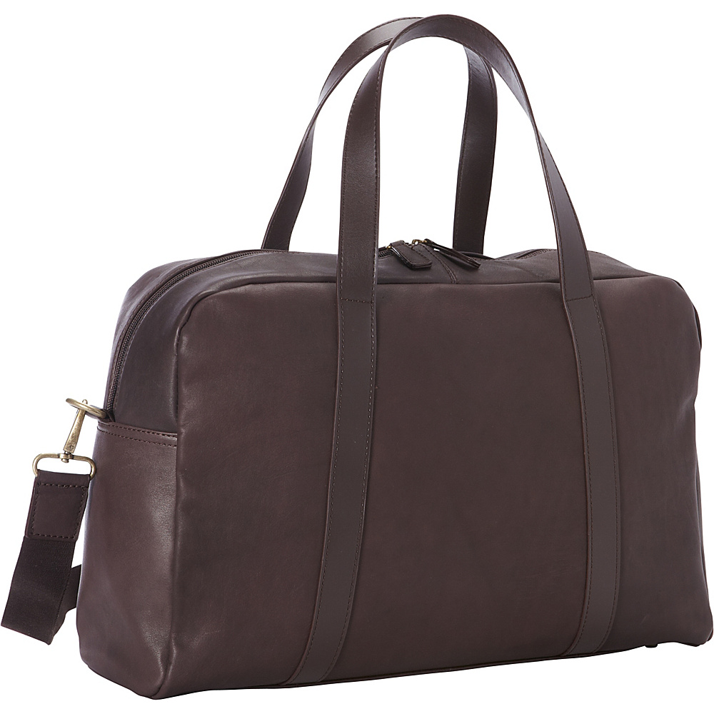 Goodhope Bags Oxford Leather Duffel Brown Goodhope Bags Luggage Totes and Satchels