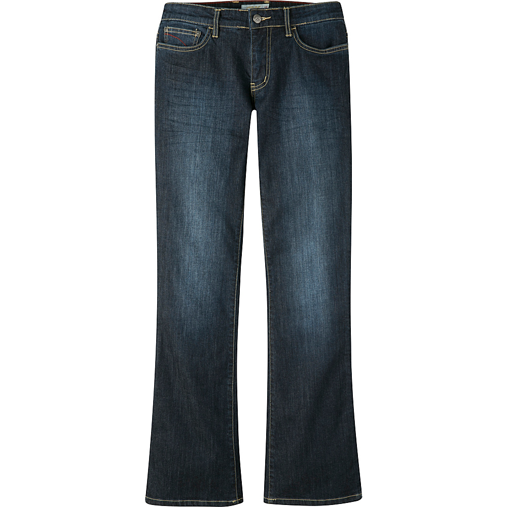 Mountain Khakis Genevieve Jeans 6 - Long - Dark Wash - Mountain Khakis Womens Apparel - Apparel & Footwear, Women's Apparel