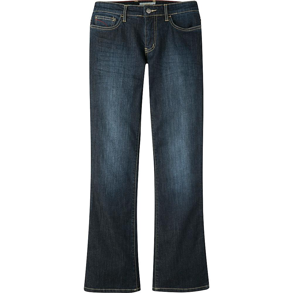 Mountain Khakis Genevieve Jeans 8 - Long - Dark Wash - Mountain Khakis Womens Apparel - Apparel & Footwear, Women's Apparel