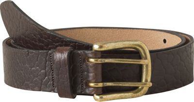 Mountain Khakis Vintage Brass Bison Belt L - Brown - Mountain Khakis Other Fashion Accessories