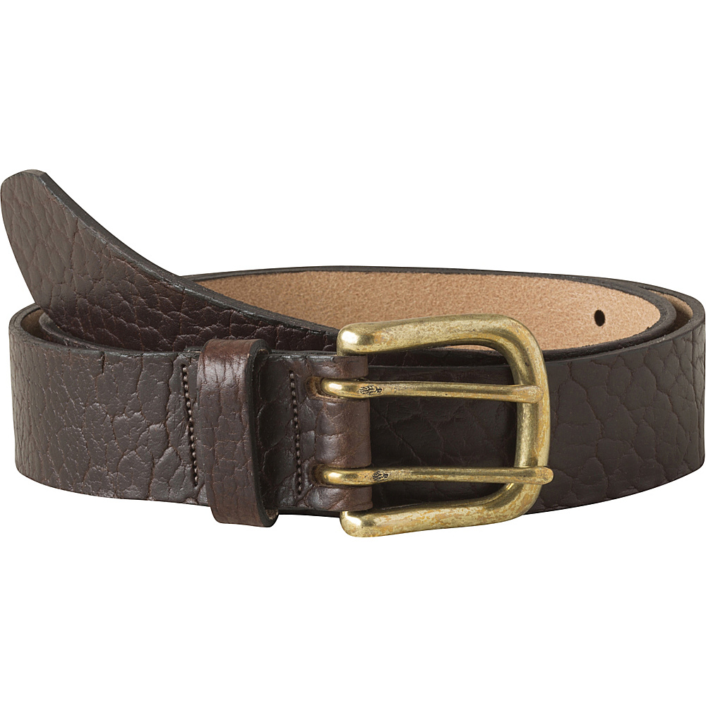 Mountain Khakis Vintage Brass Bison Belt L - Brown - Mountain Khakis Other Fashion Accessories - Fashion Accessories, Other Fashion Accessories