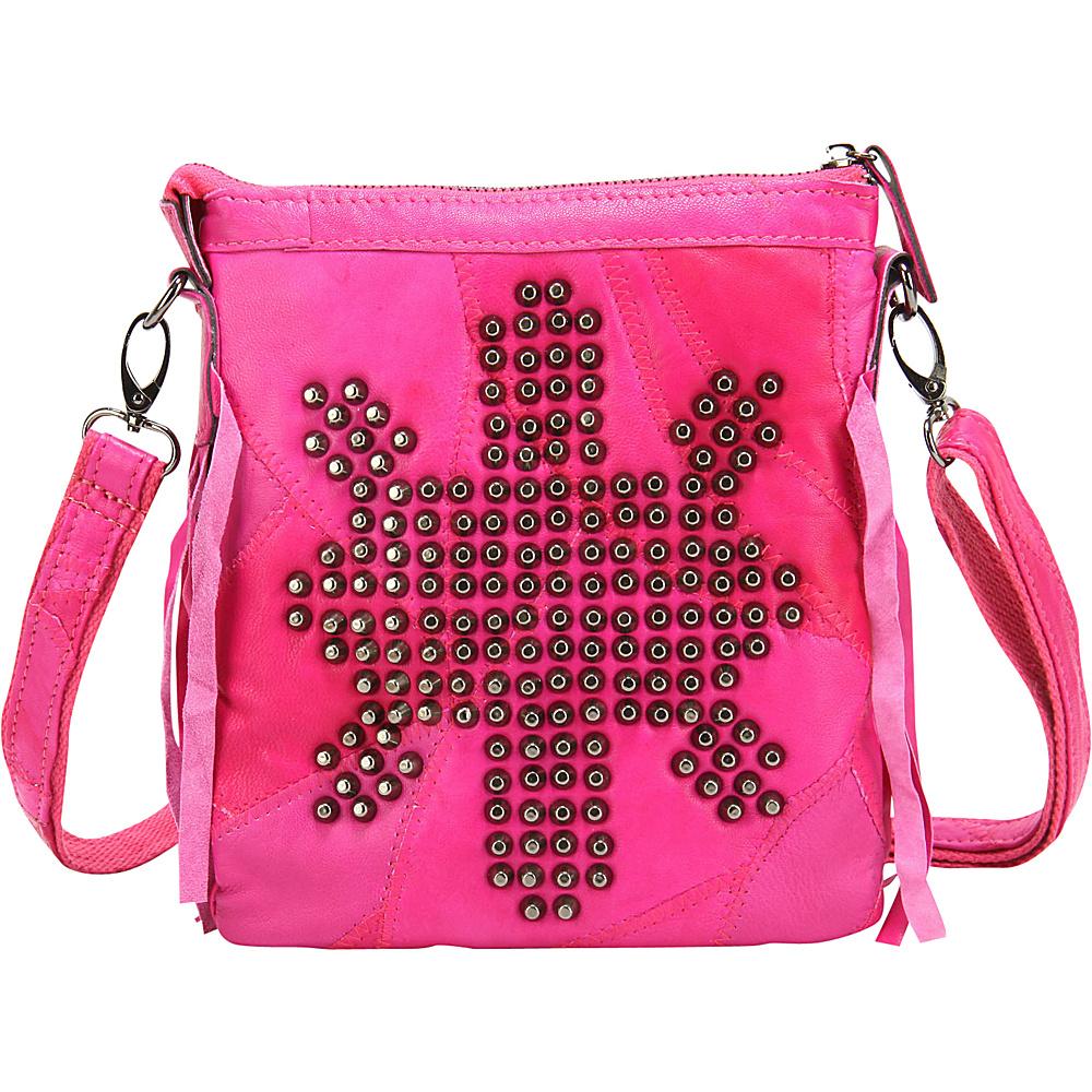 Ann Creek Women s Andromeda Cross Body Bag Fuchsia Ann Creek Manmade Handbags