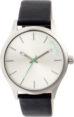Simplify 2400 Unisex Watch Silver/White - Simplify Watches