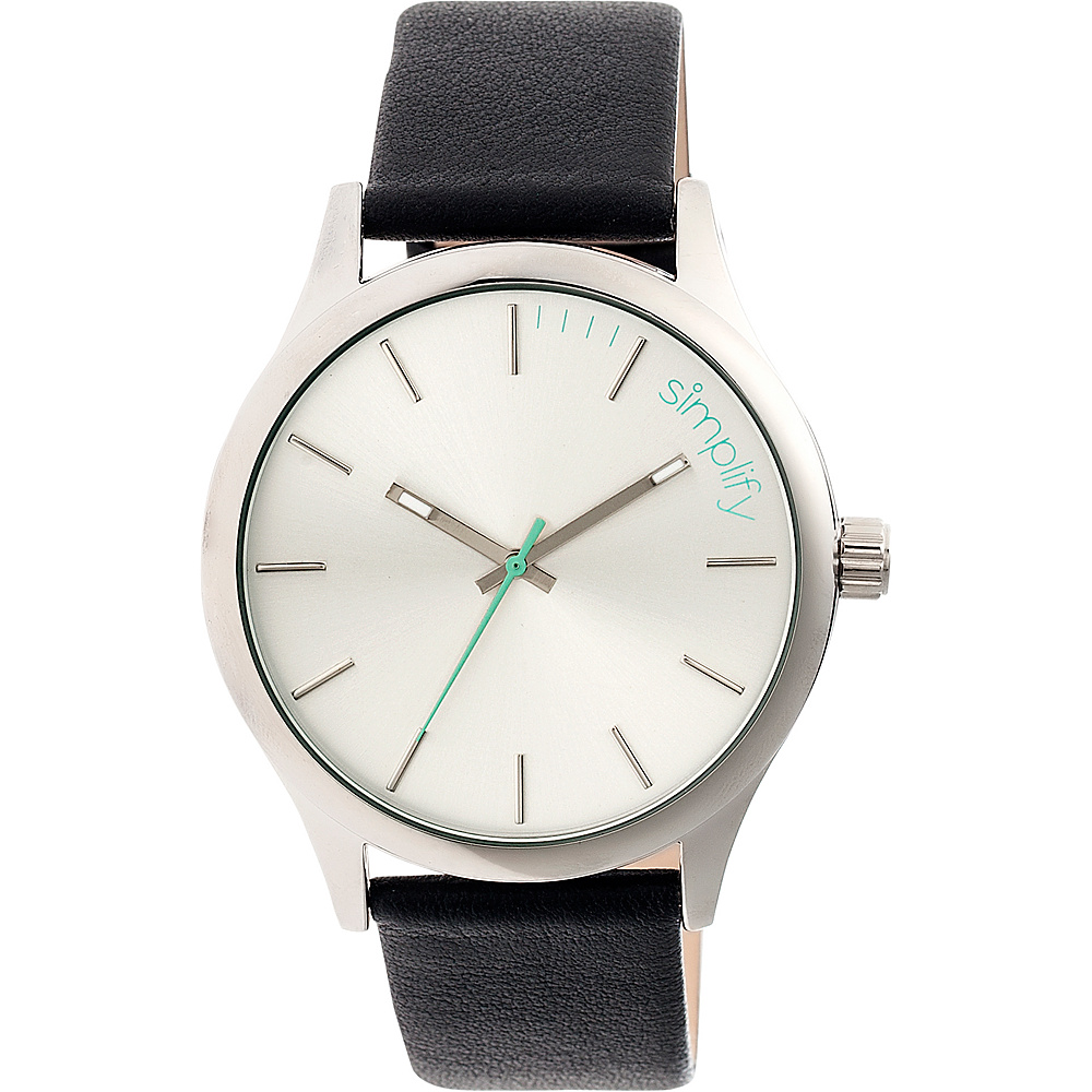 Simplify 2400 Unisex Watch Silver White Simplify Watches