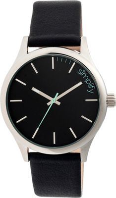 Simplify 2400 Unisex Watch Silver/Black - Simplify Watches
