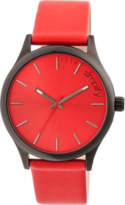 Simplify 2400 Unisex Watch Black/Red - Simplify Watches