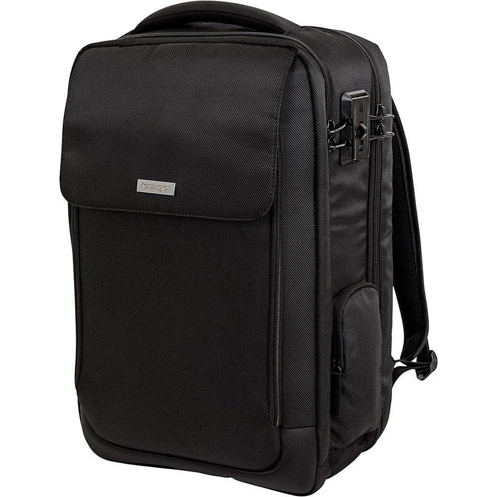 Kensington Securetrek Overnight Laptop Tablet Backpack up to 17 Black Kensington Business Laptop Backpacks