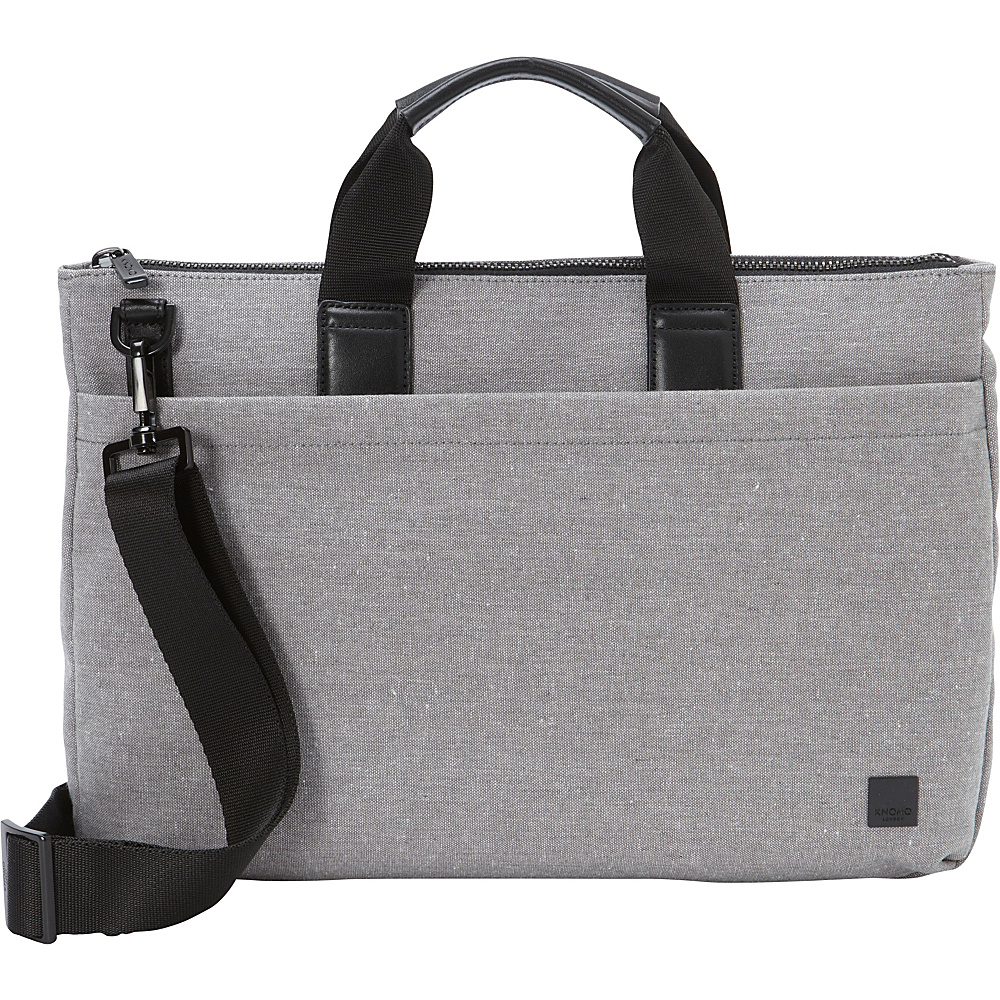 KNOMO London Oxberry Brief Grey KNOMO London Non Wheeled Business Cases