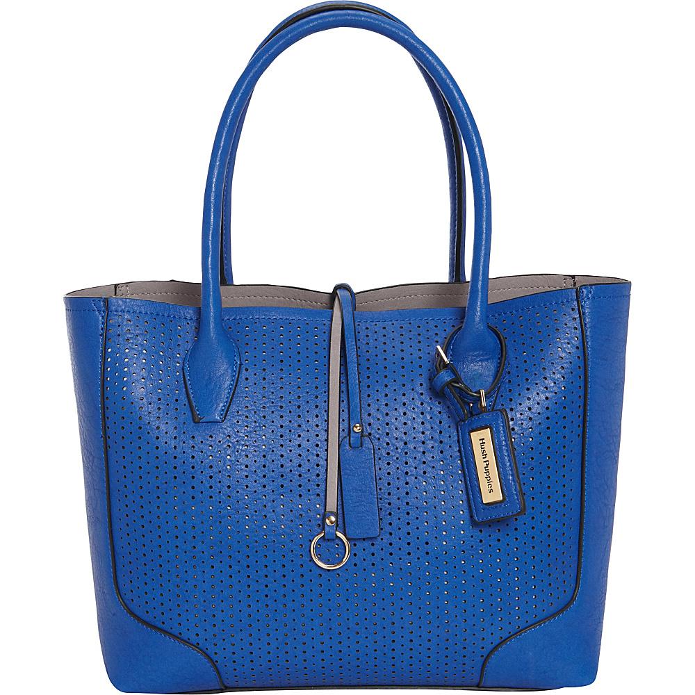 Hush Puppies Brooke Satchel Royal Blue Hush Puppies Manmade Handbags