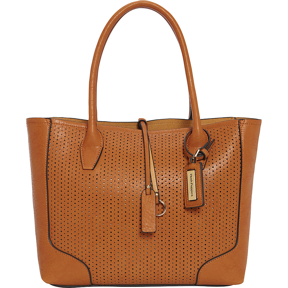 Hush Puppies Brooke Satchel Tans Hush Puppies Manmade Handbags