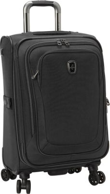 Atlantic Unite 2 21 inch Expandable Spinner Black - Atlantic Softside Carry-On