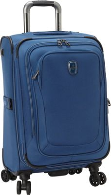 Atlantic Unite 2 21 inch Expandable Spinner Blue - Atlantic Softside Carry-On