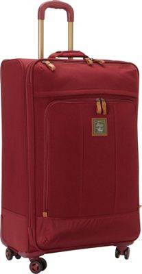 GH Bass & CO Luggage Tamarack 29 inch Upright Spinner Red - GH Bass & CO Luggage Softside Checked