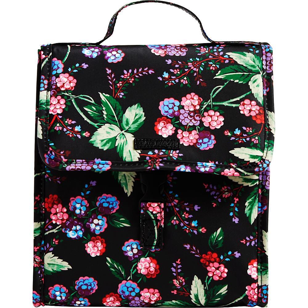 Vera Bradley Lunch Sack Winter Berry - Vera Bradley Travel Coolers - Travel Accessories, Travel Coolers