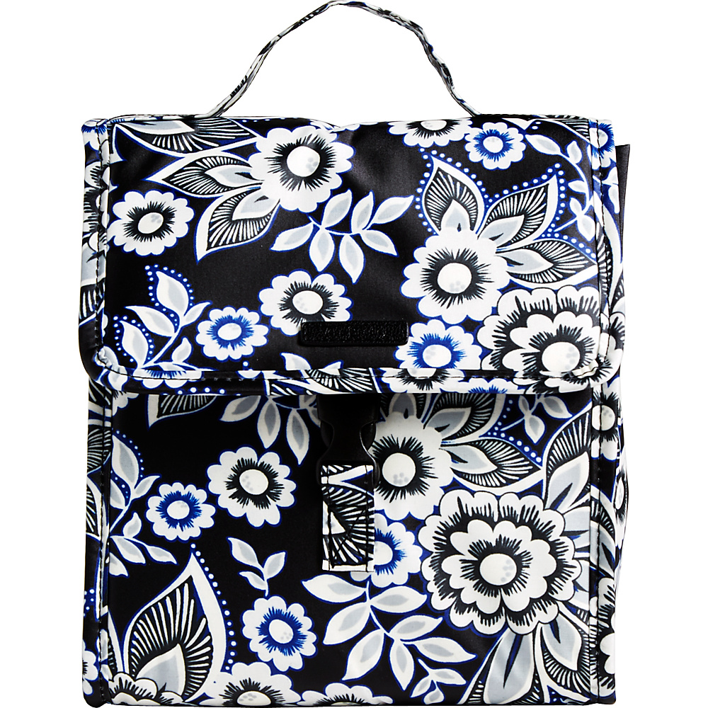 Vera Bradley Lunch Sack Snow Lotus - Vera Bradley Travel Coolers - Travel Accessories, Travel Coolers