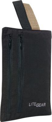 LiteGear RFID Microfiber Hidden Pocket Black - LiteGear Travel Wallets