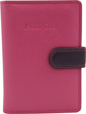 Visconti Rb 75 Multi Colored Passport Holder Cover Travel