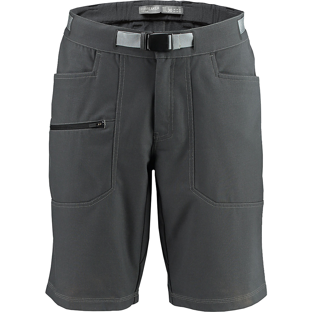 Icebreaker Mens Compass Shorts 34 - Monsoon - Icebreaker Mens Apparel - Apparel & Footwear, Men's Apparel