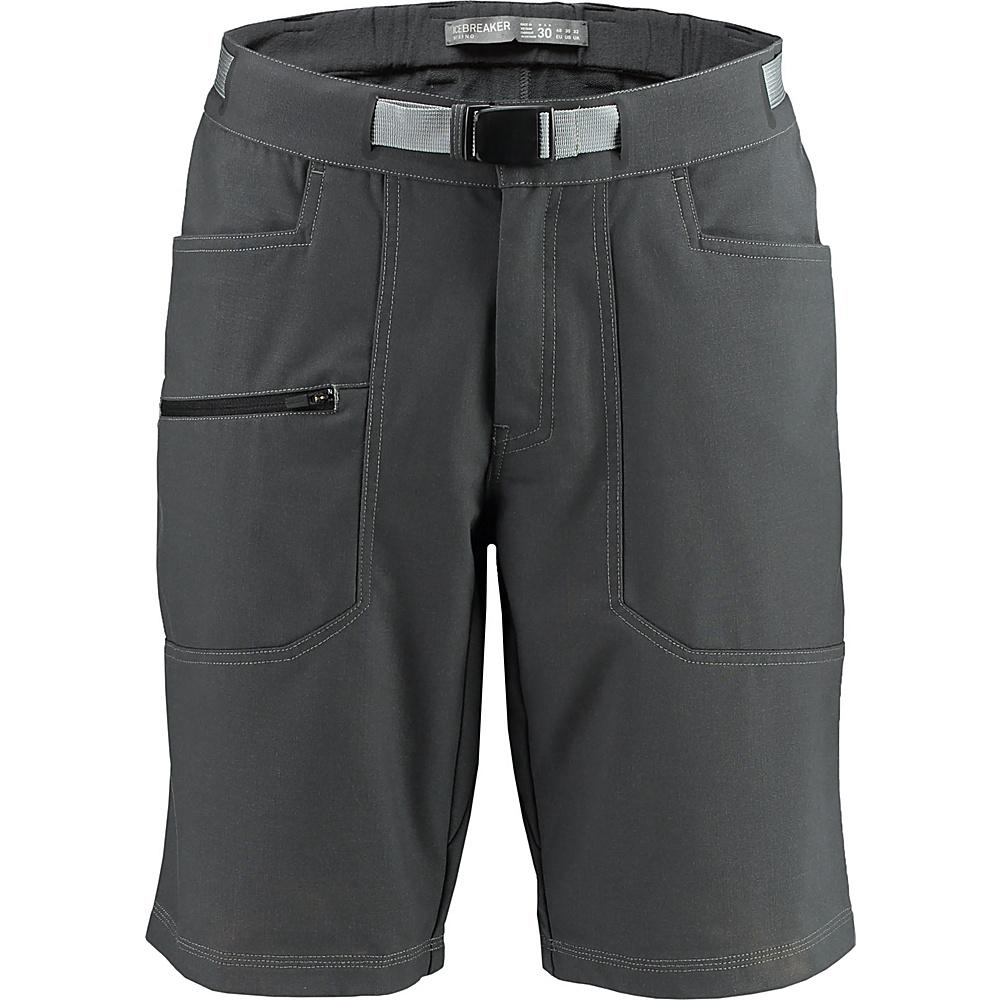 Icebreaker Mens Compass Shorts 36 - Monsoon - Icebreaker Mens Apparel - Apparel & Footwear, Men's Apparel