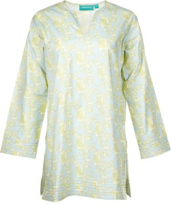 Needham Lane Pagoda Tunic M - Pale Jade - Needham Lane Women's Apparel